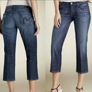 Anthro CofH Kelly #063 cropped low waist jeans